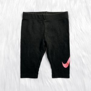 2/$15 ☆ NIKE Black Pink Logo Leggings